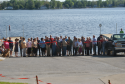 Boat launch ribbon cutting ceremony